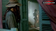 6. Jessica Parker Kennedy Shows Tits and Ass – Black Sails