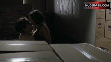 3. Jessica Parker Kennedy Sexy in Bra – Colony