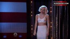 Katharine Mcphee in Lingerie on Stage– Smash