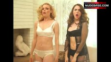 Gillian Jacobs Photo Shoot in Lingerie – Gq Lingerie Photo Shoot