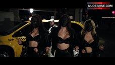 Erika Jordan Sexy in Black Bra – Stretch