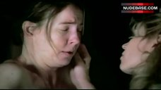 5. Kim Dickens Naked Tits – Deadwood
