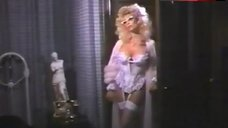 Judy Landers Sexy in Сorset and Stockings – Club Fed