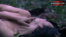 10. Natalie Dormer Sex in Forest – The Tudors