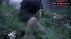 3. Natalie Dormer Sex in Forest – The Tudors