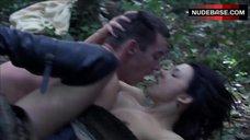 5. Natalie Dormer Sex in Forest – The Tudors