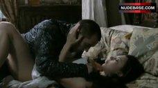 3. Natalie Dormer Sensual Scene – The Tudors