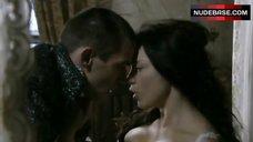 8. Natalie Dormer Sensual Scene – The Tudors