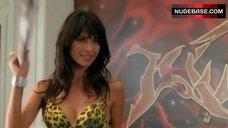 Tamara Feldman in Leopard Bra – Dirty Hot Money