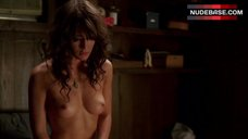 Lizzy Caplan Bare Boobs – True Blood