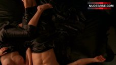 1. Lizzy Caplan Shows Nude Tits – True Blood