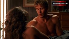 10. Lizzy Caplan Shows Nude Tits – True Blood