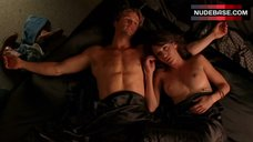 3. Lizzy Caplan Shows Nude Tits – True Blood