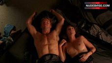 4. Lizzy Caplan Shows Nude Tits – True Blood