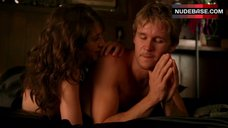 6. Lizzy Caplan Shows Nude Tits – True Blood