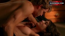 8. Lizzy Caplan Shows Nude Tits – True Blood