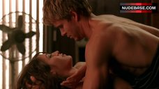9. Lizzy Caplan Shows Nude Tits – True Blood