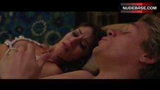 6. Lizzy Caplan Lingerie Scene – 3, 2, 1... Frankie Go Boom