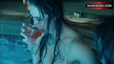 Madeline Zima Hot  in Jacuzzi – Crazy Eyes