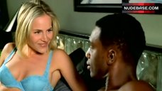 Julie Benz in Sexy Lingerie Scene – The Brothers