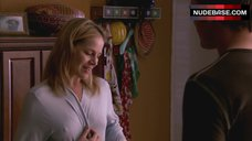 3. Julie Benz Nipples Through Dress – Dexter