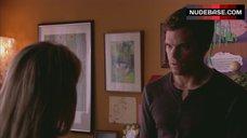 4. Julie Benz Nipples Through Dress – Dexter