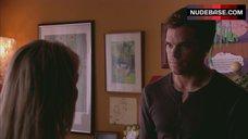 5. Julie Benz Nipples Through Dress – Dexter