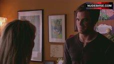 6. Julie Benz Nipples Through Dress – Dexter