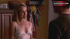 7. Julie Benz Nipples Through Dress – Dexter