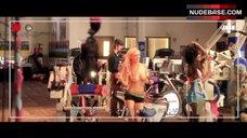 1. Kayla Paige Topless – Dumbbells