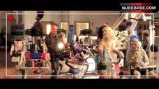 2. Kayla Paige Topless – Dumbbells