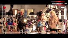 3. Kayla Paige Topless – Dumbbells