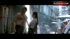 Michelle Yeoh in Wet T-Shirt – Tomorrow Never Dies
