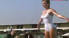 Janet Jones in Swimsuit – The Flamingo Kid