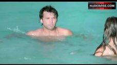 5. Kelly Brook Ass Scene – Survival Island