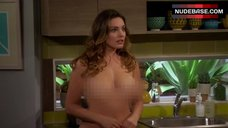 10. Kelly Brook Naked Scene – One Big Happy