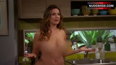 6. Kelly Brook Naked Scene – One Big Happy