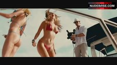 6. Kelly Brook Dancing in Red Bikini – Piranha 3D