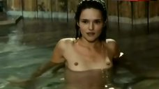 Chiara Caselli Nude Bathing – Senso