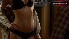 Annalynne Mccord Shows Sexy Lingerie – 90210