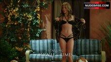 Annalynne Mccord Posing in Bikini – 90210