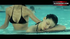 Vera Jordanova Sexy in Black Bikini – Hostel: Part Ii