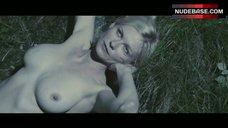 Kirsten Dunst Outdoor Nudity – Melancholia