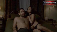 Eliza Dushku Sexy in Panties – Banshee