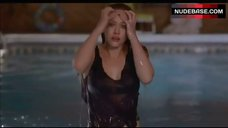 8. Hilary Duff in Wet Shirt – What Goes Up