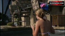 3. Lauren Conrad in Hot White Bikini – Laguna Beach: The Real Orange County