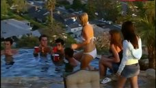 8. Lauren Conrad Hot in White Bikini – Laguna Beach: The Real Orange County