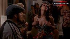 5. Christina Derosa Flashes Her Tits – Entourage