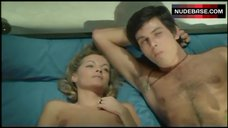 Romy Schneider Shows Nude Tits – Innocents With Dirty Hands