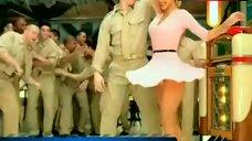 Christina Aguilera Flashing Panties – Candyman